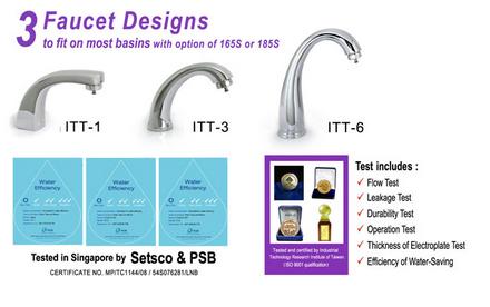 3 Faucet Designs