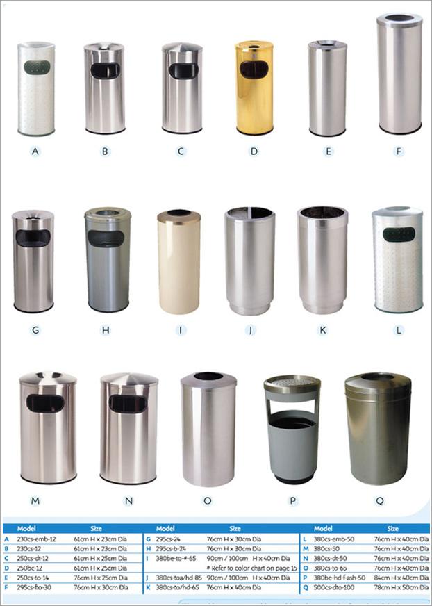 Stainless Steel Bins – 2