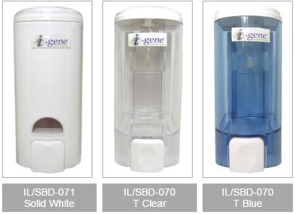 Aqua Soap Dispensers